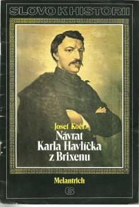 náhled knihy - Návrat Karla Havlíčka z Brixenu