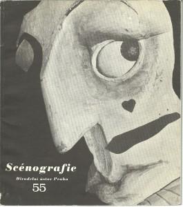 náhled knihy - Scénografie 55. Naše současná loutkářská scénografie