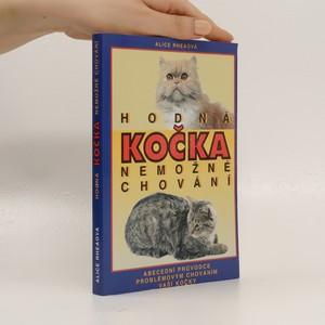 náhled knihy - Hodná kočka - nemožné chování