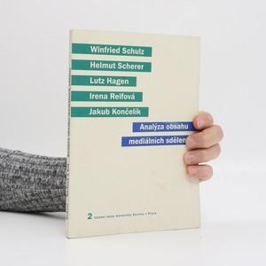 náhled knihy - Analýza obsahu mediálních sdělení