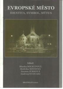 náhled knihy - Evropské město. Identita, symbol, mýtus