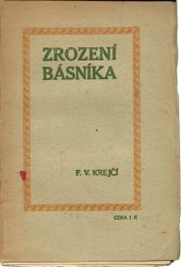 náhled knihy - Zrození básníka