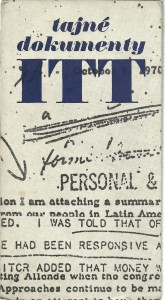 náhled knihy - Tajné dokumenty ITT