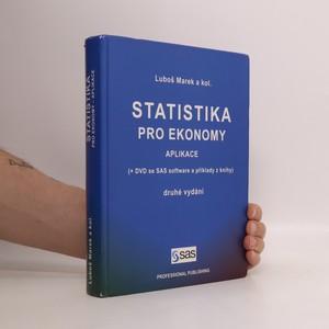 náhled knihy - Statistika pro ekonomy. Aplikace (bez DVD)