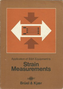 náhled knihy - Aplication of B & K Equipment to Strain Measurements
