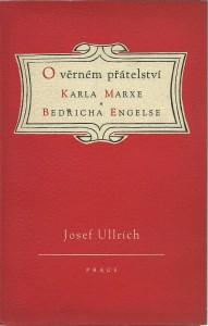náhled knihy - O věrném přátelství Karla Marxe a Bedřicha Engelse