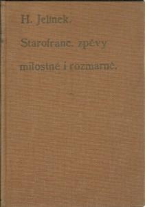 náhled knihy - Starofrancouzské zpěvy milostné a rozmarné