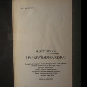 antikvární kniha Dále nevyšlapanou cestou : nekonečná pouť duchovního růstu, 1994