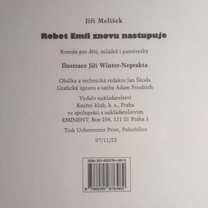 antikvární kniha Robot Emil znovu nastupuje : román pro děti, mládež i pamětníky, neuveden
