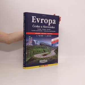 náhled knihy - Evropa, Česko a Slovensko: autoatlas Evropa 1:750 000, Česko a Slovensko 1:200 000