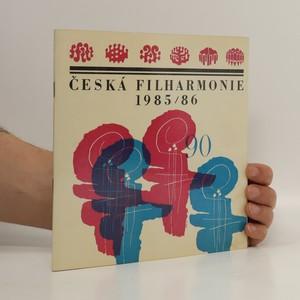 náhled knihy - Česká filharmonie 1985/86