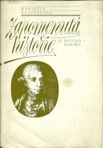 náhled knihy - Zapomenutá historie (Il divino Boemo)