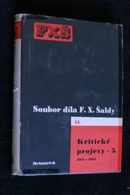 náhled knihy - Soubor díla. sv.14, Kritické projevy 5. 1901-1904