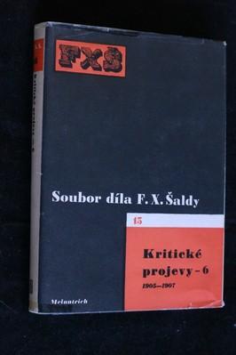 náhled knihy - Soubor díla. sv.15, Kritické projevy 6. 1905-1907