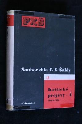 náhled knihy - Soubor díla. sv.13, Kritické projevy 4. 1898-1900