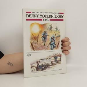 náhled knihy - Dějiny moderní doby I. díl