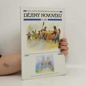 náhled knihy - Dějiny novověku II. díl
