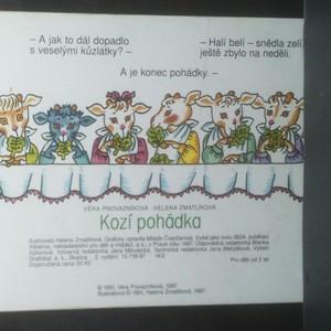 antikvární kniha Kozí pohádka, 1997