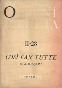 náhled knihy - Cosi fan tutte. Operní libreta II - 28