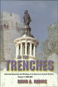 náhled knihy - In the Trenches. Selected Speeches and Writings of an American Jewish Activist. Volume 2: 2000 - 2001