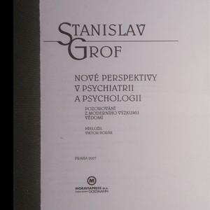 antikvární kniha Nové perspektivy v psychiatrii a psychologii, 2007