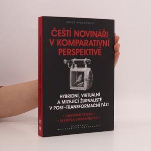 náhled knihy - Čeští novináři v komparativní perspektivě : hybridní, virtuální a mizející žurnalisté v post-transformační fázi