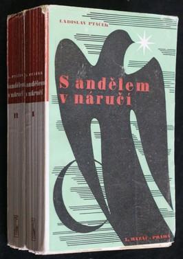 náhled knihy - S andělem v náručí : román. I.-II. díl