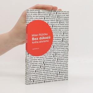 náhled knihy - Bez důkazů : kniha aforismů