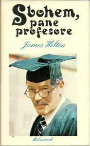 náhled knihy - Sbohem, pane profesore