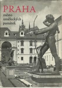 náhled knihy - Praha. Město uměleckých památek