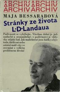 náhled knihy - Stránky ze života L. D. Landaua