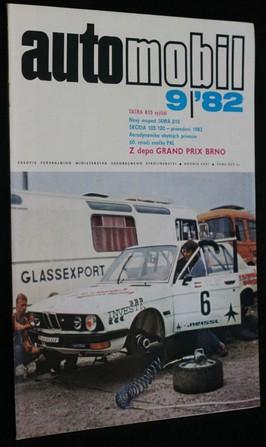 náhled knihy - Automobil č. 9, 1982