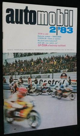 náhled knihy - Automobil č. 2, 1983