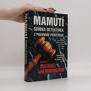 náhled knihy - Mamutí sbírka detektivek z právního prostředí