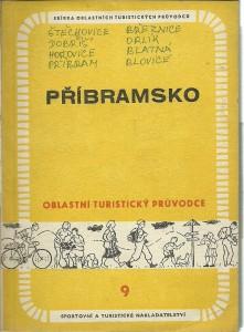 náhled knihy - Příbramsko. Oblastní turistický průvodce