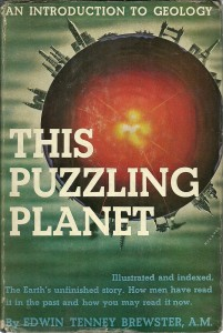 náhled knihy - This Puzzling Planet.  An Introduction to Geology