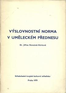 náhled knihy - Výslovnostní norma v uměleckém přednesu