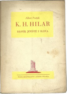 náhled knihy - K. H. Hilar básník jeviště i slova