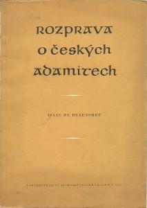 náhled knihy - Rozprava o českých adamitech
