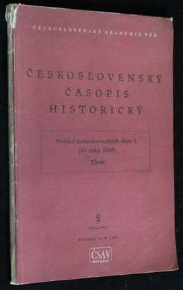 náhled knihy - Československý časopis historický, ročník II.