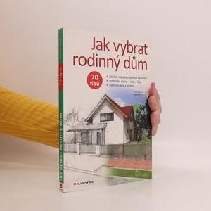 náhled knihy - Jak vybrat rodinný dům