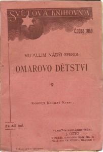 náhled knihy - Omarovo dětství (až do jeho osmého roku)