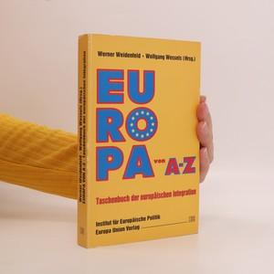 náhled knihy - Europa von A-Z. Taschenbuch der europäischen Integration