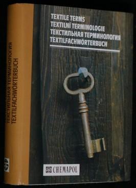 náhled knihy - Textilní terminologie