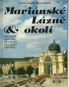 náhled knihy - Mariánské Lázně & okolí