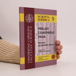náhled knihy - Příklady z evropského práva