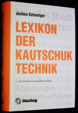 náhled knihy - Lexikon der Kautschuk technik
