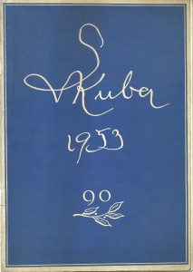 Ludvík Kuba. Vlastní podobizny 1899 - 1952