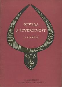 náhled knihy - Pověra a pověrčivost