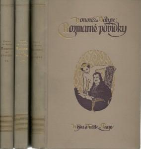 náhled knihy - Rozmarné povídky I.-III.